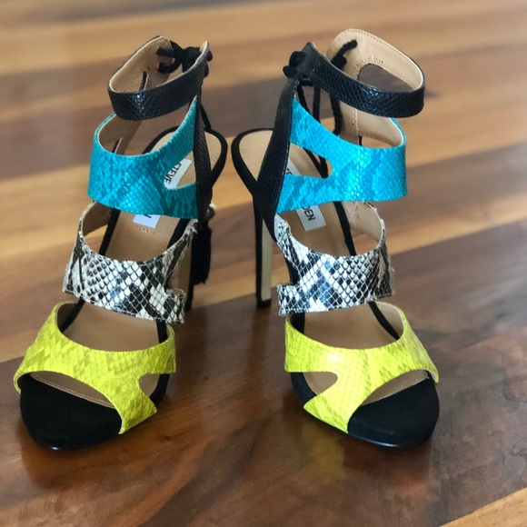 Steve Madden Shoes | Colorful Open Toe